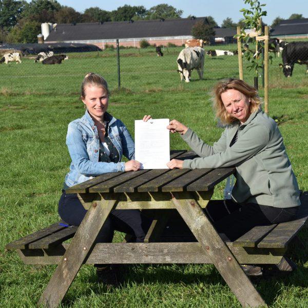 Ondertekening overeenkomst tussen Conny en Nieuw Groen